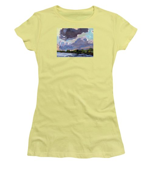 Windy Day Women's T-Shirt (Athletic Fit)