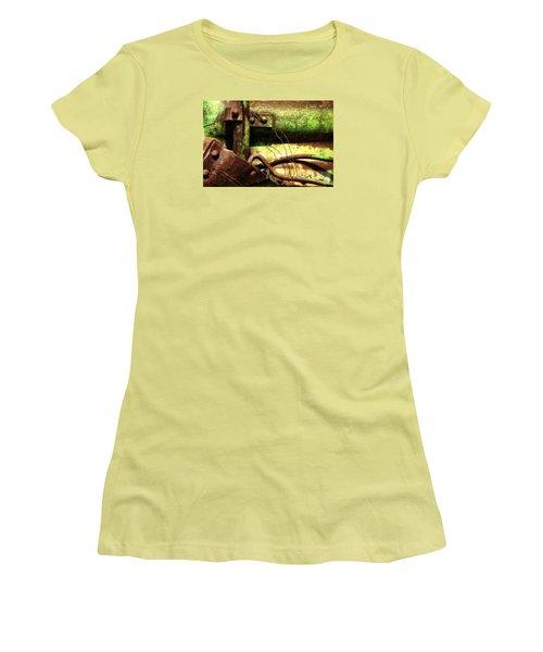 Wired Women's T-Shirt (Junior Cut) by Newel Hunter