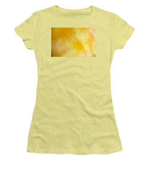 Yellow Women's T-Shirt (Junior Cut) by Corinne Rhode
