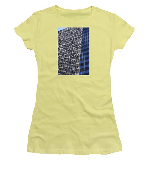 You Can Always Go Downtown  Women's T-Shirt (Athletic Fit)