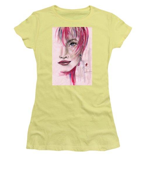 Zelda Women's T-Shirt (Junior Cut) by P J Lewis