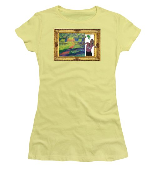 Cover Art For Gallery Women's T-Shirt (Athletic Fit)