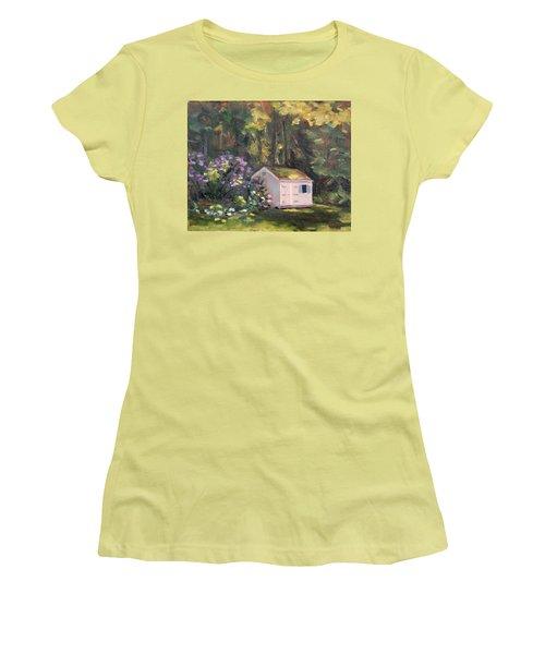 101 Blooms Women's T-Shirt (Junior Cut) by Trina Teele