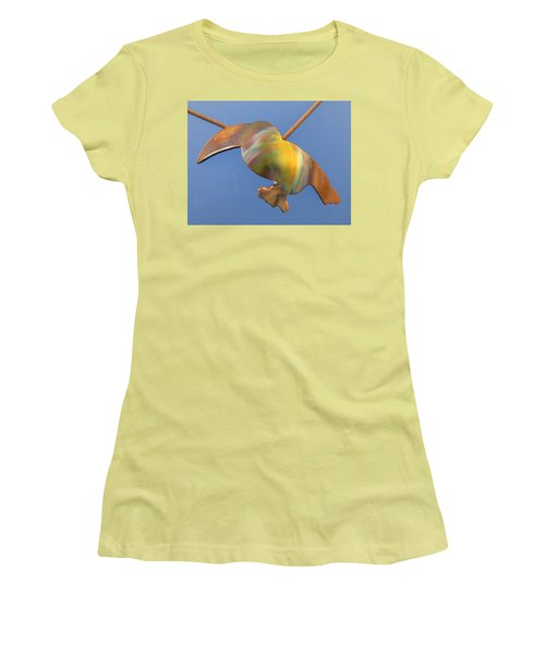 1243 Toucan Women's T-Shirt (Junior Cut) by Dianne Brooks