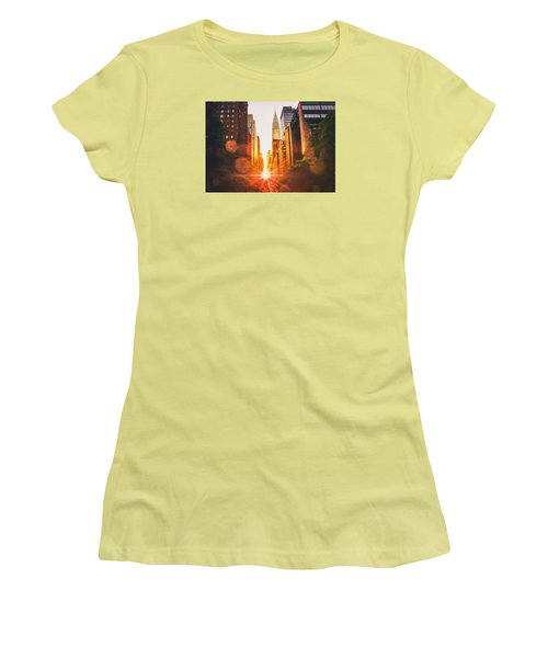 New York City Women's T-Shirt (Junior Cut) by Vivienne Gucwa
