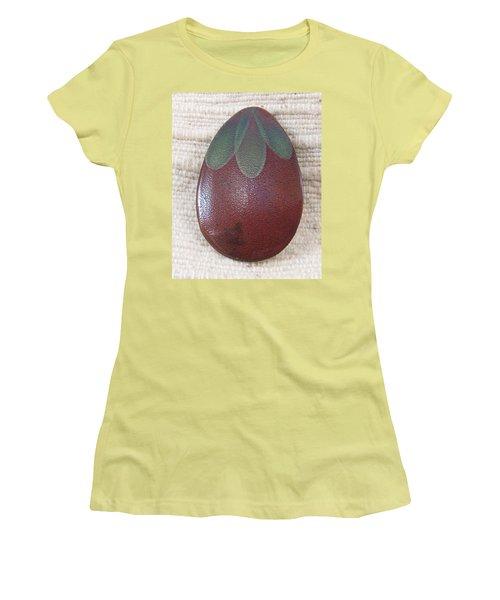1390 Eggplant Women's T-Shirt (Junior Cut) by Dianne Brooks