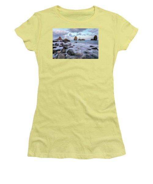 Aci Trezza - Sicily Women's T-Shirt (Athletic Fit)