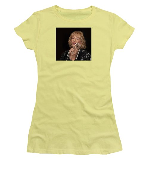Christmasparty Women's T-Shirt (Junior Cut) by Dennis Eckel