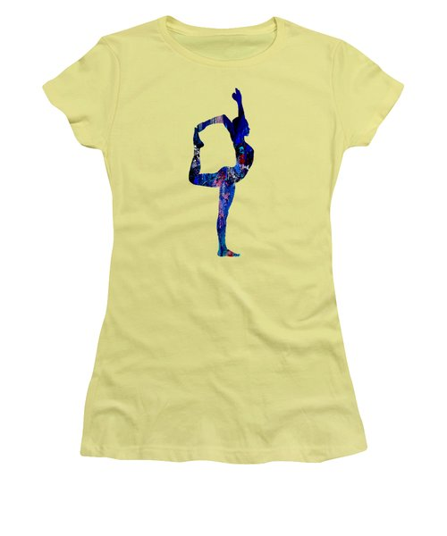 Yoga Collection Women's T-Shirt (Junior Cut) by Marvin Blaine