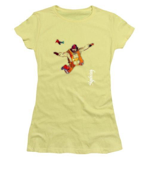 Skydiving Collection Women's T-Shirt (Athletic Fit)