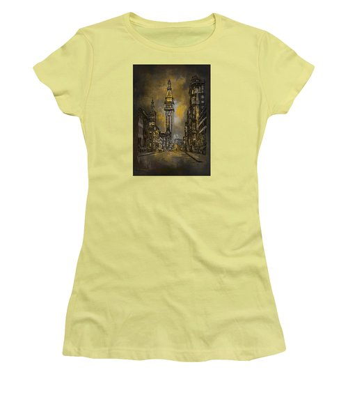 1910y Madison Avenue Ny. Women's T-Shirt (Junior Cut) by Andrzej Szczerski