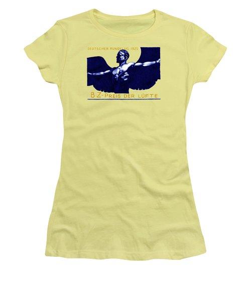 1925 German Air Show Women's T-Shirt (Junior Cut) by Historic Image