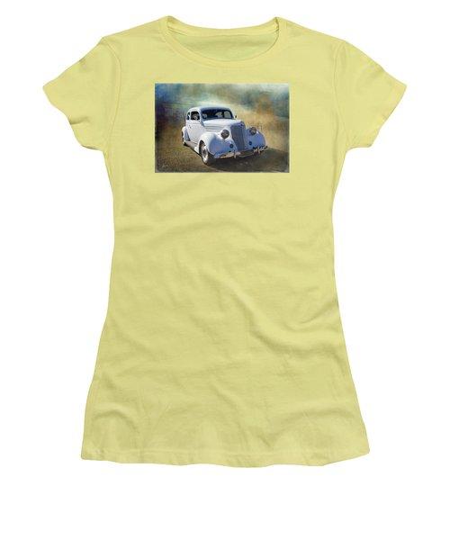 1936 Ford Women's T-Shirt (Junior Cut) by Keith Hawley