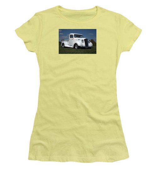 1937 Chevrolet Pickup Truck Women's T-Shirt (Athletic Fit)
