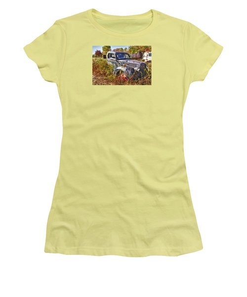 1941 Ford Truck Women's T-Shirt (Athletic Fit)