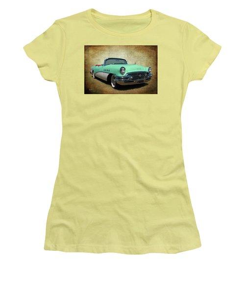 1955 Women's T-Shirt (Junior Cut) by Keith Hawley
