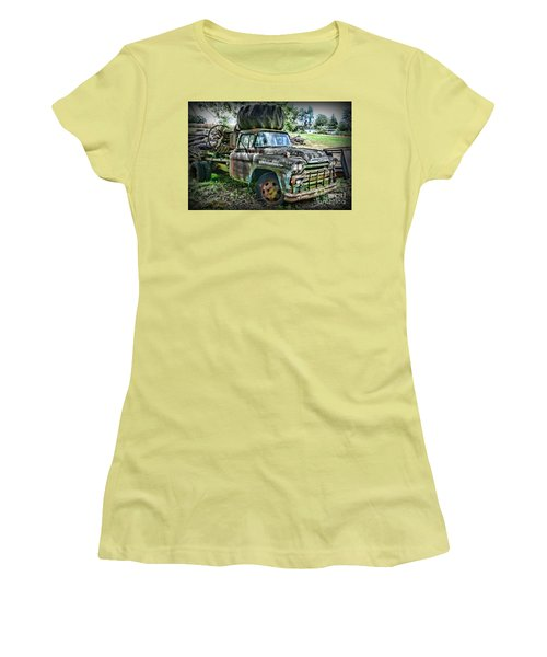 Women's T-Shirt (Junior Cut) featuring the photograph 1959 Chevrolet Viking 60 by Paul Ward