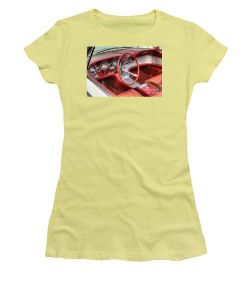 1962 Thunderbird Dash Women's T-Shirt (Athletic Fit)