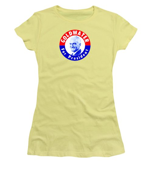 1964 Goldwater For President Women's T-Shirt (Athletic Fit)