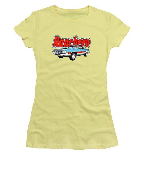 1971 Ford Ranchero At Three Palms - 5th Generation Of Ranchero Women's T-Shirt (Athletic Fit)