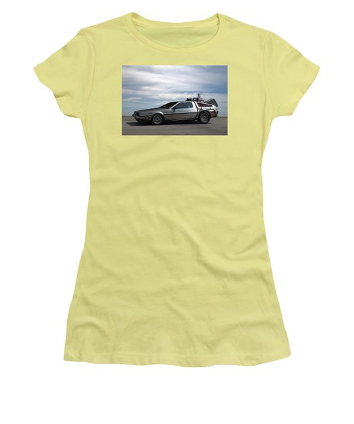 1981 Delorean Dmc12 Women's T-Shirt (Athletic Fit)