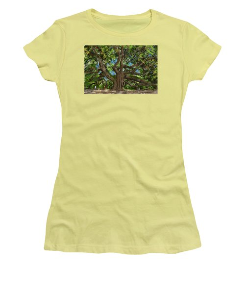 Angel Oak Women's T-Shirt (Athletic Fit)