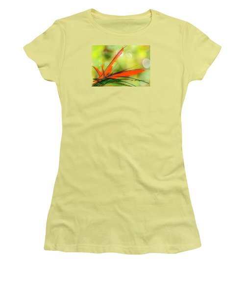 Bird Of Paradise 2 Women's T-Shirt (Junior Cut) by Kume Bryant