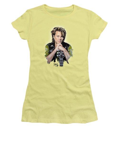Bon Jovi Women's T-Shirt (Athletic Fit)