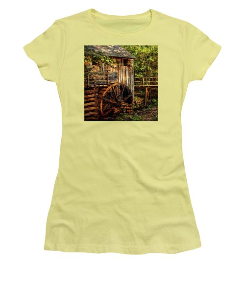 Cades Cove Mill Women's T-Shirt (Athletic Fit)