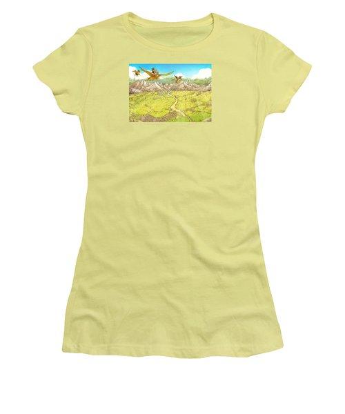 Chiricahua Mountains Women's T-Shirt (Junior Cut) by Reynold Jay