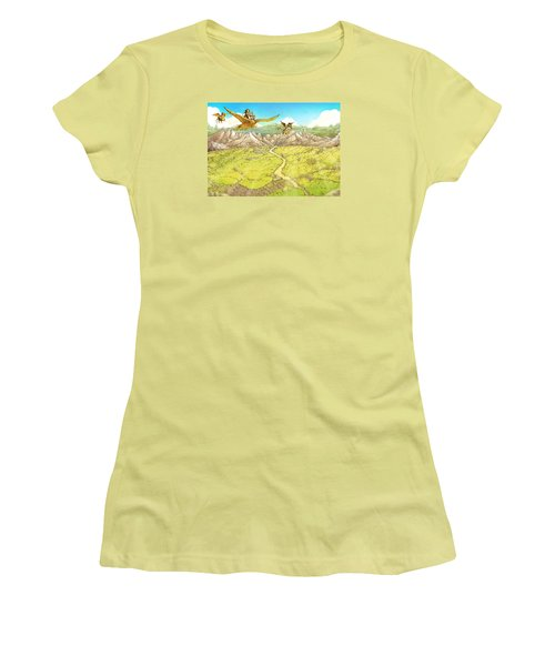 Chiricahua Mountains Women's T-Shirt (Athletic Fit)