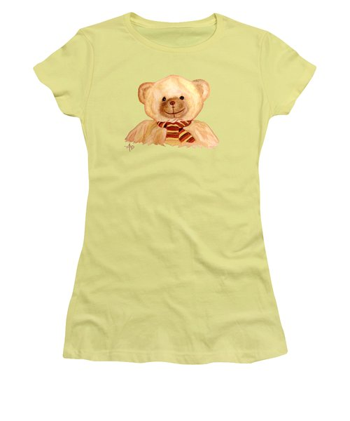 Cuddly Bear Women's T-Shirt (Athletic Fit)