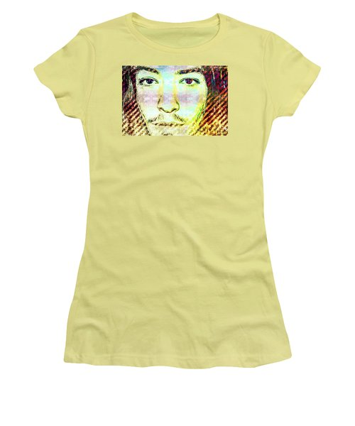 Ezra Miller Women's T-Shirt (Junior Cut) by Svelby Art