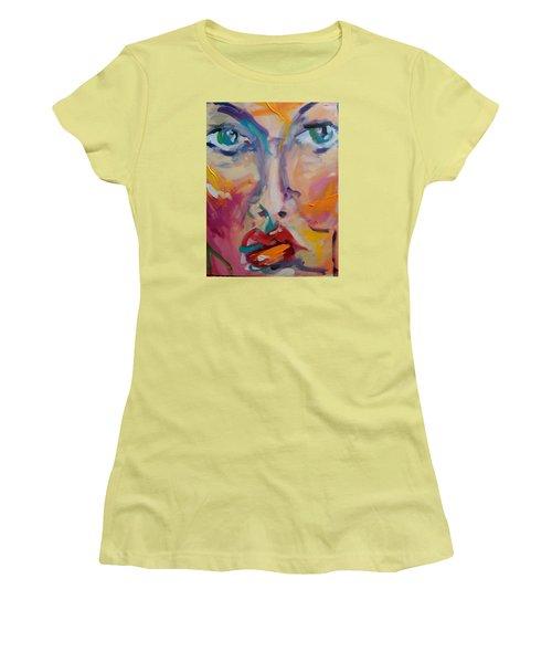 Face Women's T-Shirt (Athletic Fit)