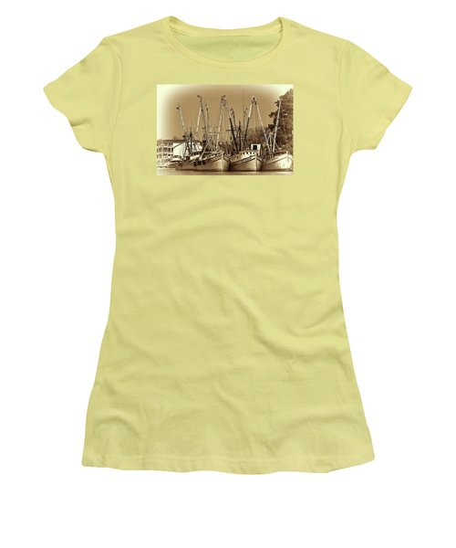 Georgetown Shrimpers Women's T-Shirt (Junior Cut)