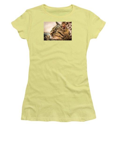 Women's T-Shirt (Junior Cut) featuring the photograph Gnewton by Sabine Edrissi