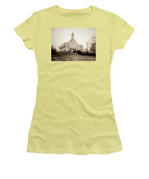 Good Shepherd Women's T-Shirt (Athletic Fit)