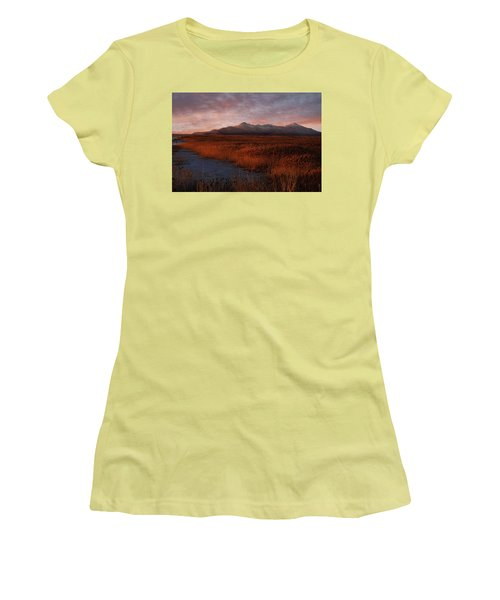 Great Salt Lake Women's T-Shirt (Athletic Fit)