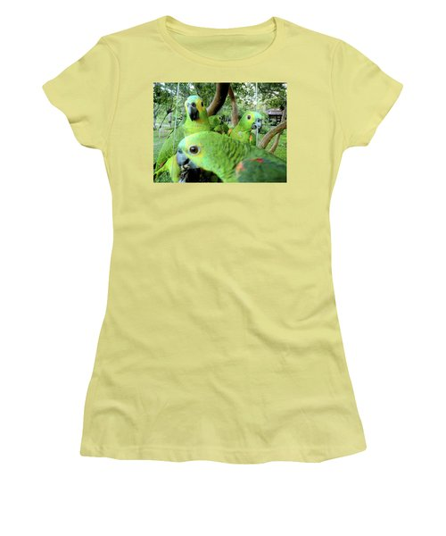 Women's T-Shirt (Junior Cut) featuring the photograph Happy Hour by Beto Machado