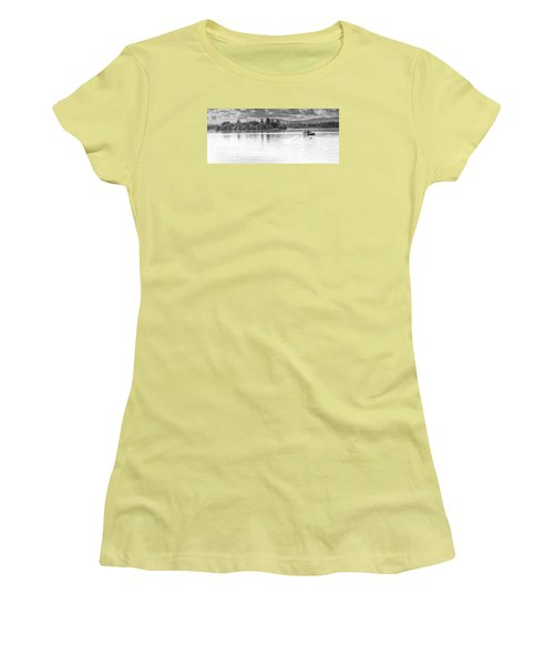 Lake Of Menteith Women's T-Shirt (Junior Cut) by Jeremy Lavender Photography