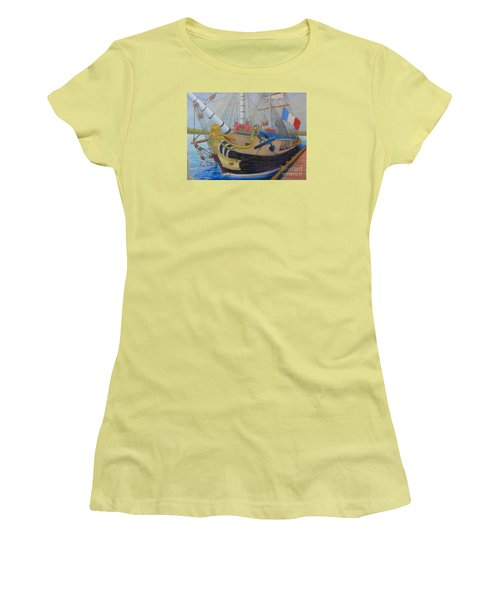 L'hermione Women's T-Shirt (Junior Cut) by Rae  Smith