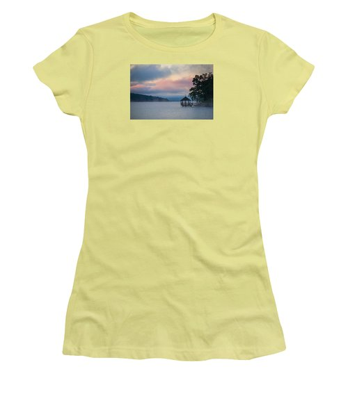 Meredith New Hampshire Women's T-Shirt (Junior Cut) by Robert Clifford