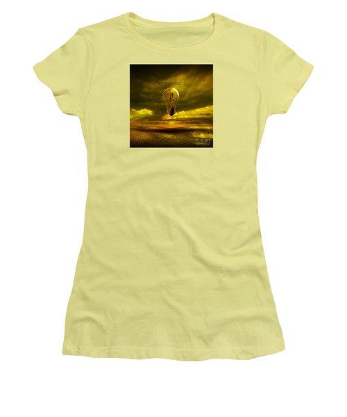Mystical Light Women's T-Shirt (Athletic Fit)