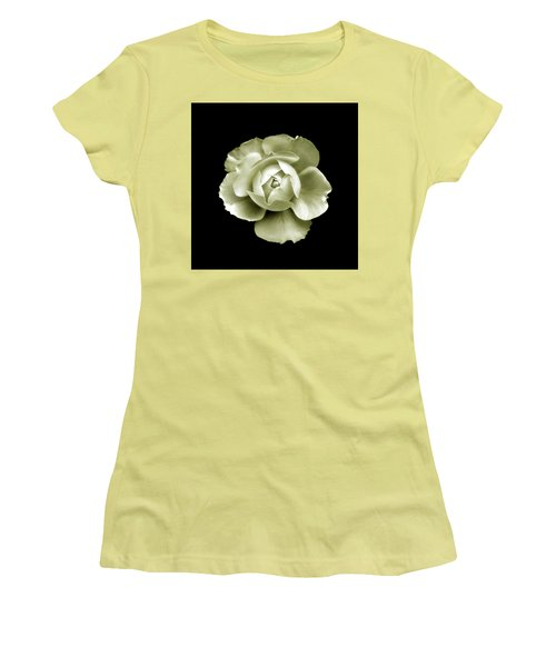 Women's T-Shirt (Athletic Fit) featuring the photograph Peony by Charles Harden