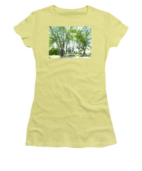 Ponce, Urban Ecological Park Women's T-Shirt (Athletic Fit)