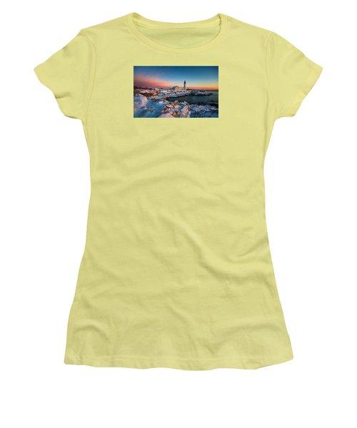Portland Headlight Women's T-Shirt (Junior Cut)
