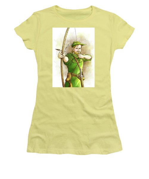 Robin Hood The Legend Women's T-Shirt (Athletic Fit)