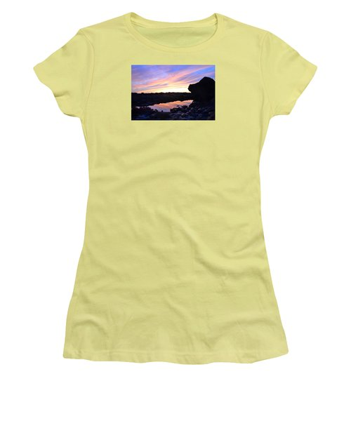 Reflection Of Painted Sky Women's T-Shirt (Athletic Fit)