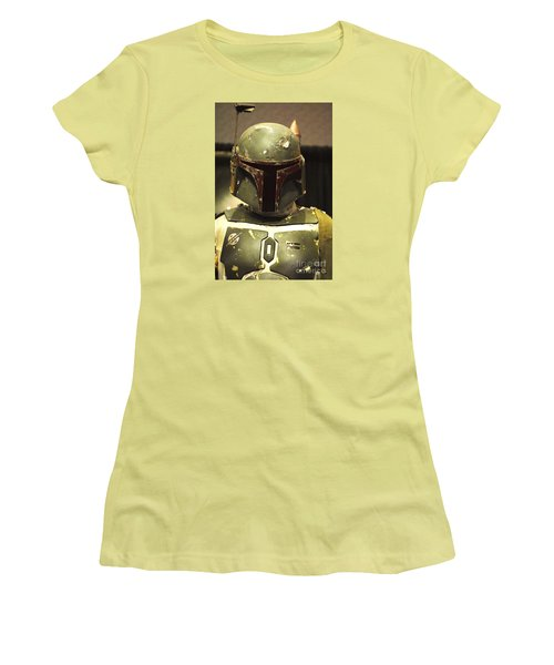 The Real Boba Fett Women's T-Shirt (Junior Cut) by Micah May