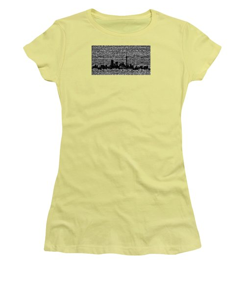 Toronto Women's T-Shirt (Athletic Fit)